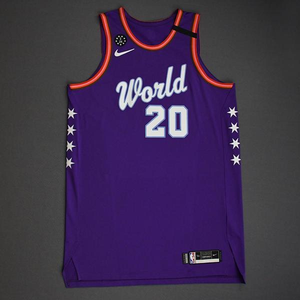 Image of Nicolo Melli - 2020 NBA Rising Stars - Team World - Game-Worn 1st Half Jersey