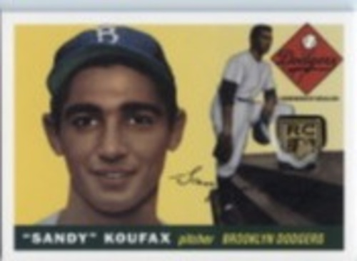 Photo of 2020 Topps Rookie Card Retrospective RC Logo Medallions #RCRSK Sandy Koufax