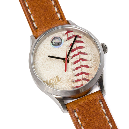 Photo of Tokens & Icons St. Louis Cardinals 2011 World Series Game Used Baseball Watch W/ Marks - D Game 1