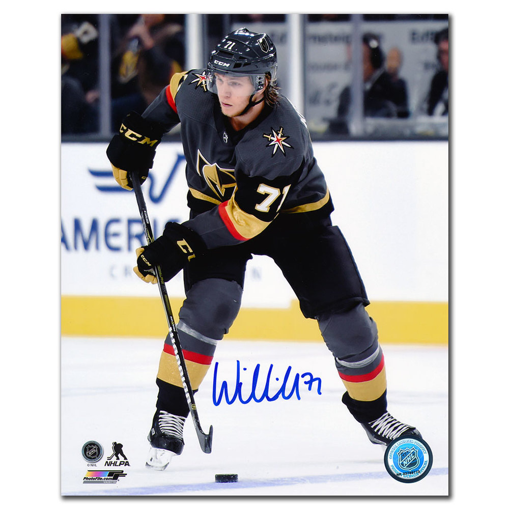 William Karlsson Vegas Golden Knights ACTION Autographed 8x10 Photo