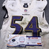London Games - Ravens Tyus Bowser Game Used Jersey (9/24/17) Size 40