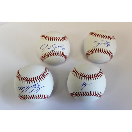 Photo of Mariners Care: Autographed Baseball Collection of 2020 Mariners Starting Pitchers