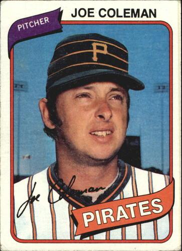 Photo of 1980 Topps #542 Joe Coleman