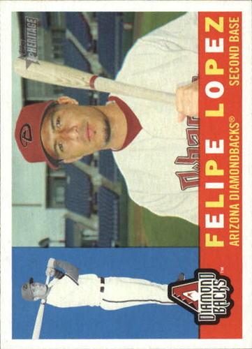 Photo of 2009 Topps Heritage #168 Felipe Lopez