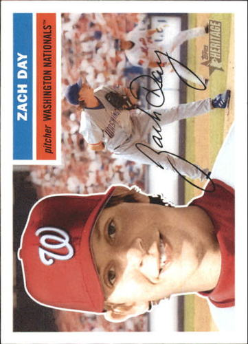 Photo of 2005 Topps Heritage White Backs #48 Zach Day