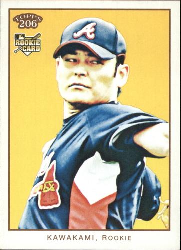 Photo of 2009 Topps 206 #28a Kenshin Kawakami RC