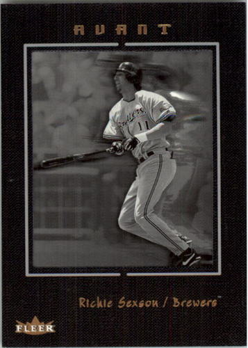 Photo of 2003 Fleer Avant Black and White #46 Richie Sexson