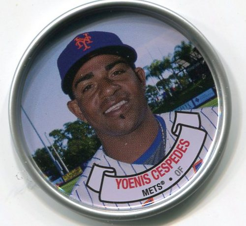 Photo of 2017 Topps Archives Coins #C5 Yoenis Cespedes