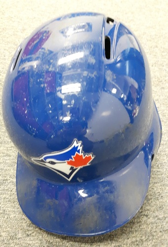 Photo of Authenticated Game Used Helmet - #28 Steve Pearce. Size 7 3/8.