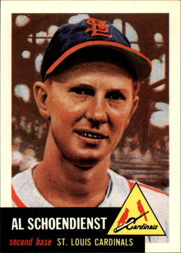 Photo of 1991 Topps Archives 1953 #78 Red Schoendienst