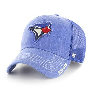 Toronto Blue Jays Burnstead Mesh Snap by '47 Brand