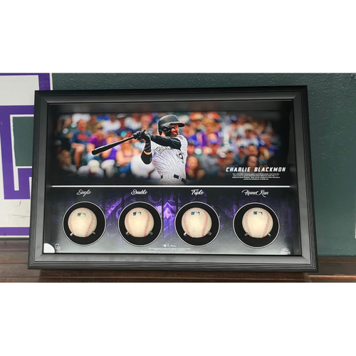 Photo of Colorado Rockies Charlie Blackmon Cycle Piece