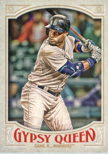 Photo of 2016 Topps Gypsy Queen #18A Robinson Cano/Batting