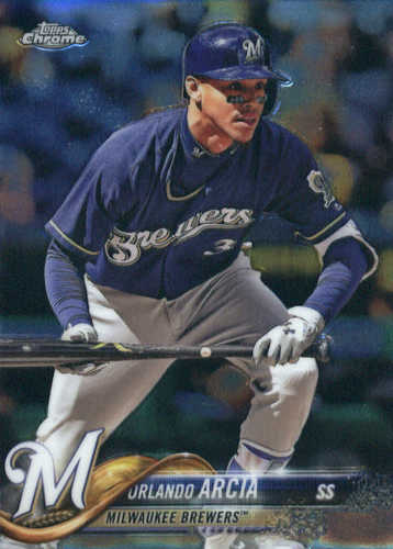 Photo of 2018 Topps Chrome #135 Orlando Arcia
