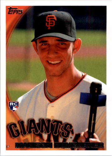 Photo of 2010 Topps #105 Madison Bumgarner Rookie Card