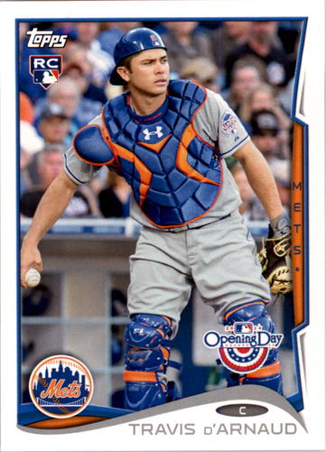 Photo of 2014 Topps Opening Day #214 Travis d'Arnaud RC