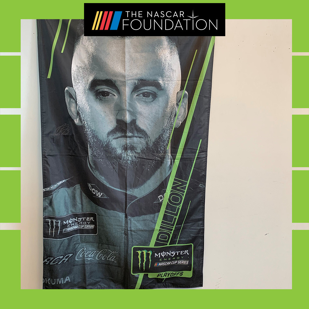 NASCAR's Austin Dillon Autographed Banner!