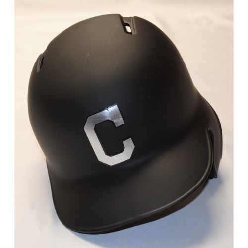 "Photo of Yu ""You"" Chang Cleveland Indians Game-Used 2019 Players' Weekend Helmet"
