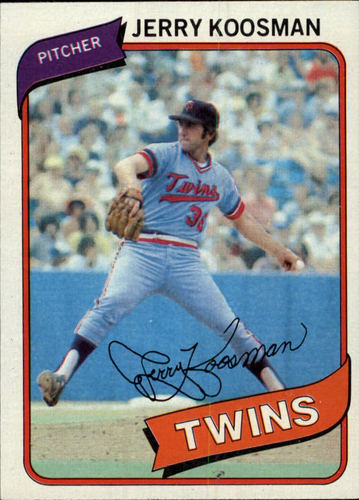 Photo of 1980 Topps #275 Jerry Koosman