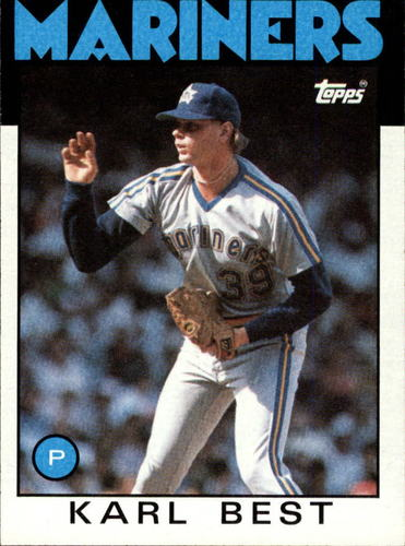 Photo of 1986 Topps #61 Karl Best