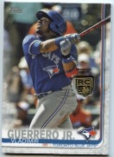 Photo of 2020 Topps Rookie Card Retrospective RC Logo Medallions #RCRVG Vladimir Guerrero Jr.
