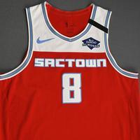 Bogdan Bogdanovic - Sacramento Kings - Game-Worn City Edition Jersey - Scored 23 Points - 2019-20 Season