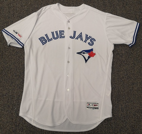 Photo of Authenticated Team Issued White 2019 Jersey - Features MLB 150 Patch on Sleeve - - Choose your size!