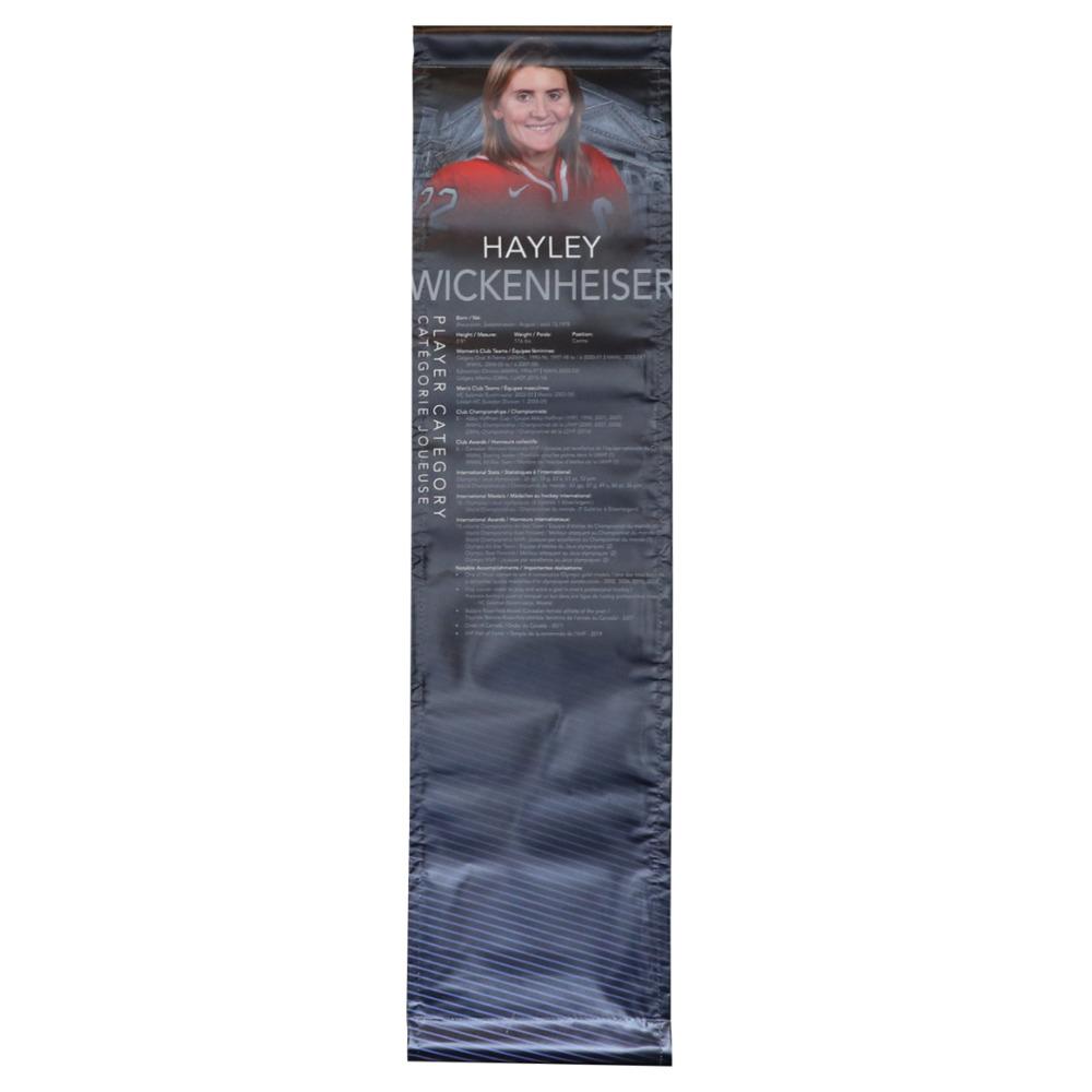 Hayley Wickenheiser Hockey Hall of Fame Class of 2019 Showcase Banner