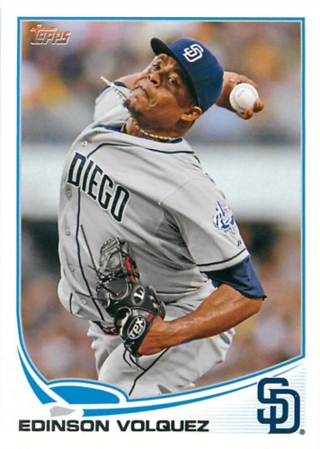 Photo of 2013 Topps #137 Edinson Volquez
