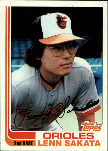 Photo of 1982 Topps #136 Lenn Sakata