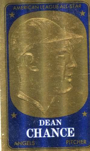 Photo of 1965 Topps Embossed #66 Dean Chance