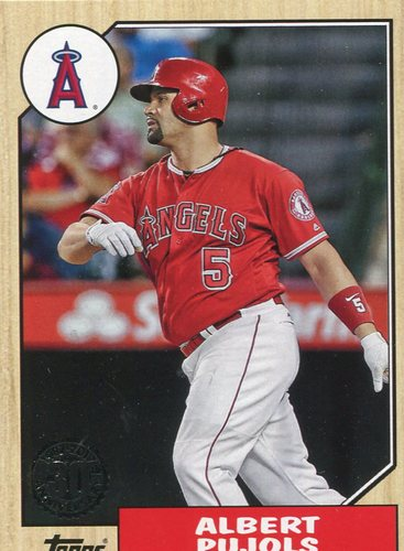 Photo of 2017 Topps '87 Topps #8782 Albert Pujols