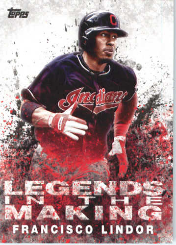 Photo of 2018 Topps Legends in the Making #LTMFL Francisco Lindor