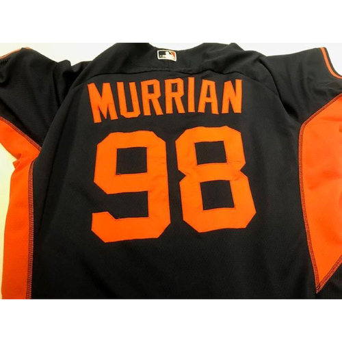 Photo of 2015 Team-Issued Road Batting Practice Jersey: John Murrian