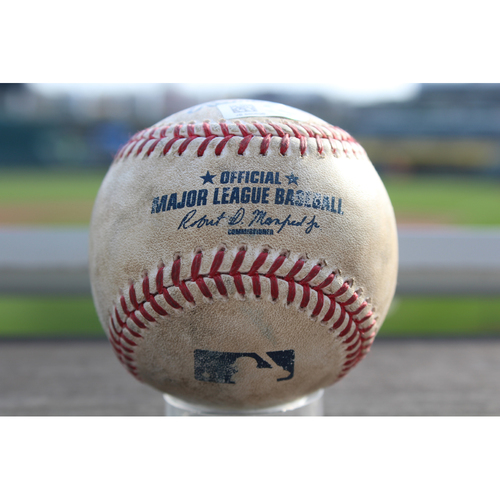 Photo of Game-Used Baseball: Avisail Garcia 406th Career Hit (CWS at KC - 5/4/2017)