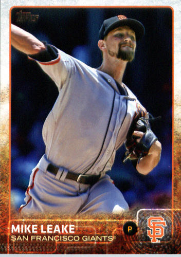 Photo of 2015 Topps Update #US271 Mike Leake