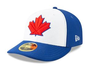 big sale ce637 9eb2f Toronto Blue Jays 2019 Authentic Collection Low Crown Batting Practice Cap  by New Era