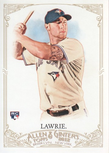 Photo of 2012 Topps Allen and Ginter #122 Brett Lawrie RC