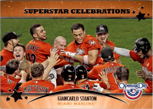 Photo of 2013 Topps Opening Day Superstar Celebrations #SC5 Giancarlo Stanton