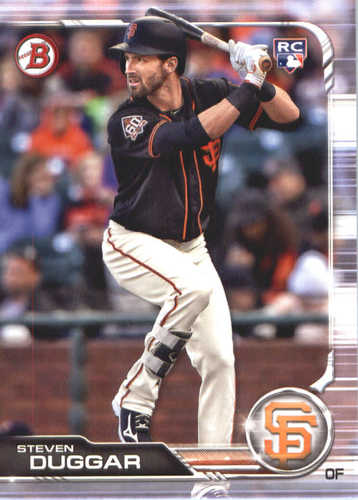 Photo of 2019 Bowman #30 Steven Duggar RC
