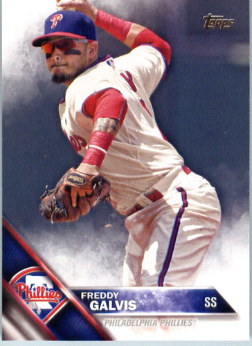 Photo of 2016 Topps #461 Freddy Galvis