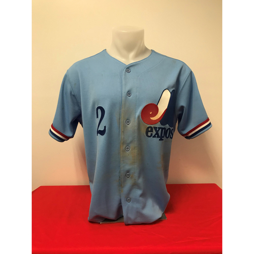 Photo of Adam Eaton Expos Gear: Game-Used Jersey