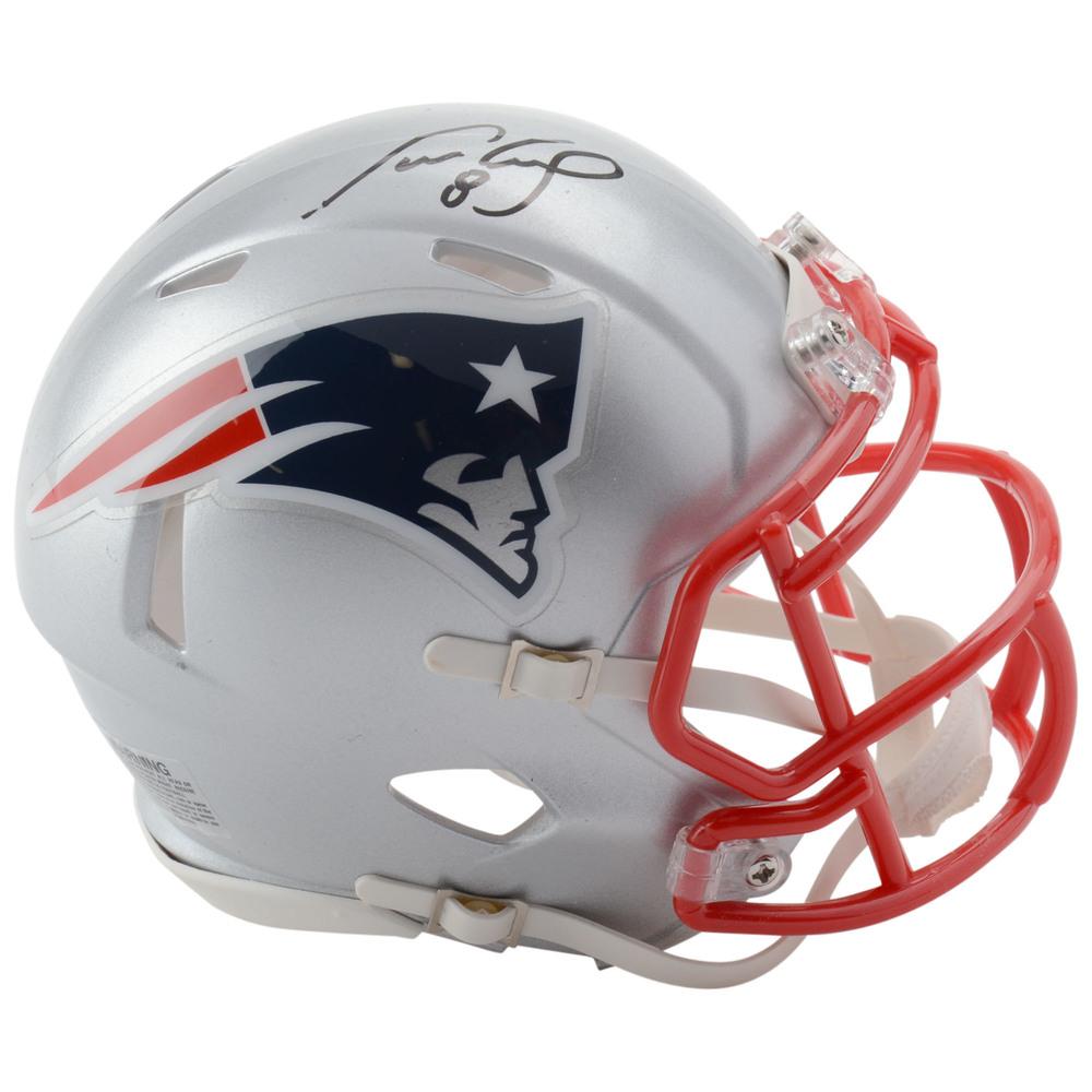 Cam Neely Boston Bruins Autographed New England Patriots Mini Helmet