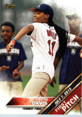 Photo of 2016 Topps First Pitch #FP4 Mo'ne Davis