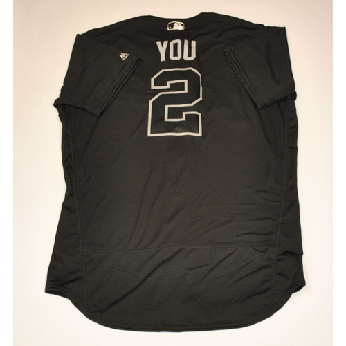 "Photo of Yu ""You"" Chang Cleveland Indians Game-Used 2019 Players' Weekend Jersey"