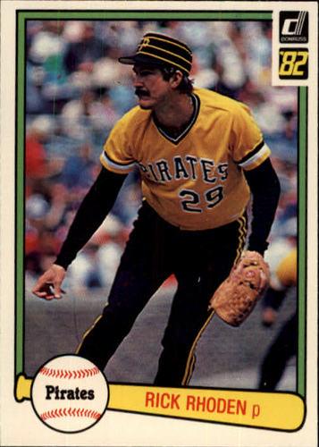 Photo of 1982 Donruss #423 Rick Rhoden