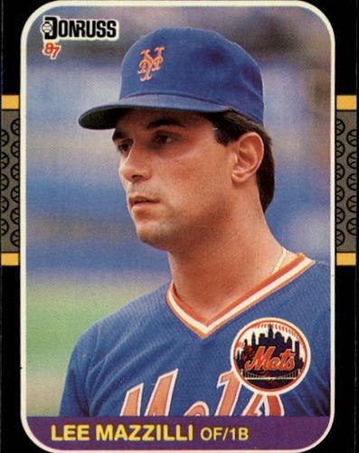 Photo of 1987 Donruss #562 Lee Mazzilli