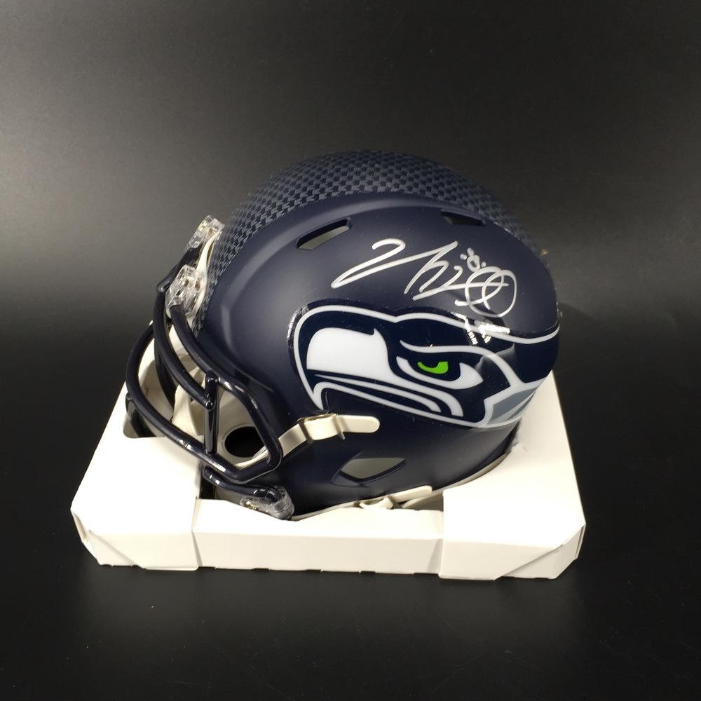 PCF - Seahawks Nick Vannett Signed Mini Helmet
