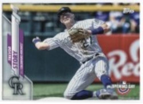 Photo of 2020 Topps Opening Day #109 Trevor Story