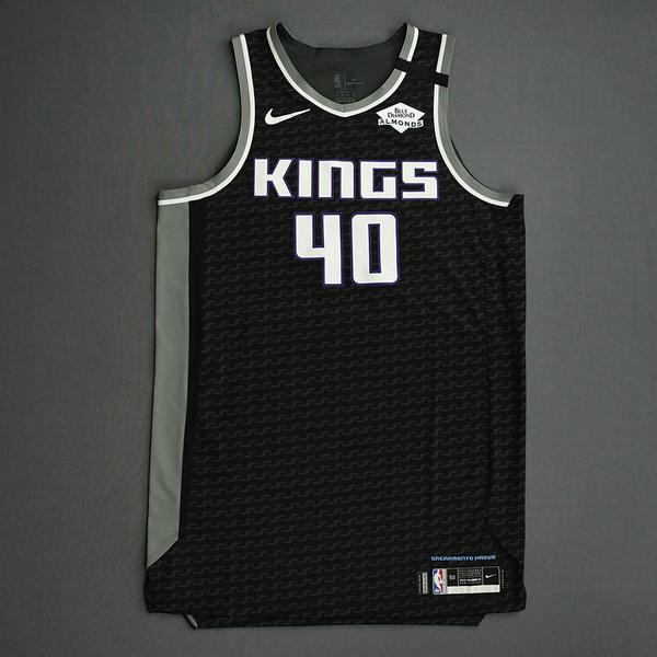Image of Harrison Barnes - Sacramento Kings - Game-Worn Statement Edition Jersey - 2019-20 NBA Season Restart with Social Justice Message